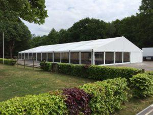 Transparante tent