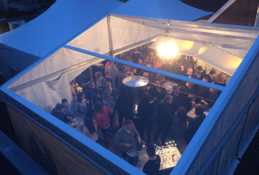Aluhal transparant dak Dutch Pub de Zaak Nunspeet