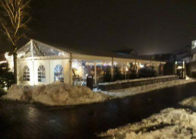 Aluhal winterfair tentinrichting Nunspeet