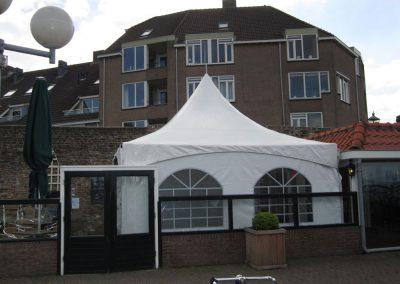 Pagodetent terras Harderwijk
