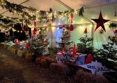 Drive-thru-tent-Restaurant-Het-Nieuwe-Jachthuis-Hoog-Soeren NL tenten kerst