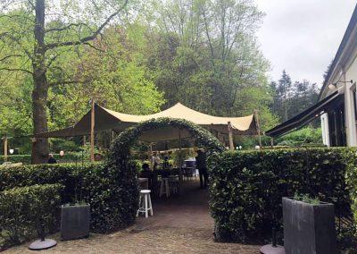 Stretchtent verhuur feest Het Koetshuis Hulshorst NL Tenten Verhuur