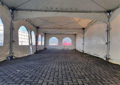 Pagodetenten 3x 5x5 meter gekoppeld Lelystad